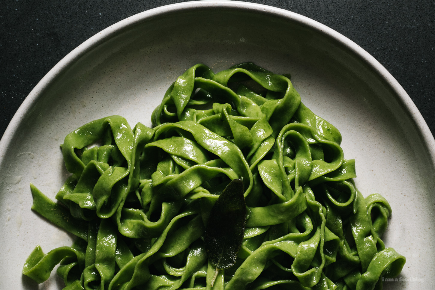 Sage and Brown Butter Pasta Recipe - www.iamafoodblog.com
