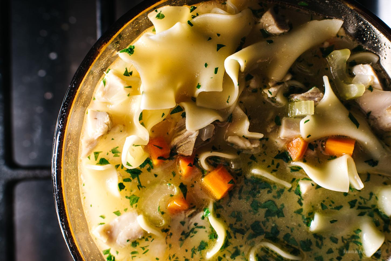 Miso Chicken Noodle Soup Recipe - www.iamafoodblog.com