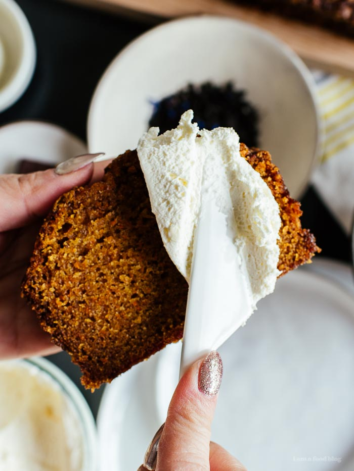 Carrot Loaf Recipe - www.iamafoodblog.com