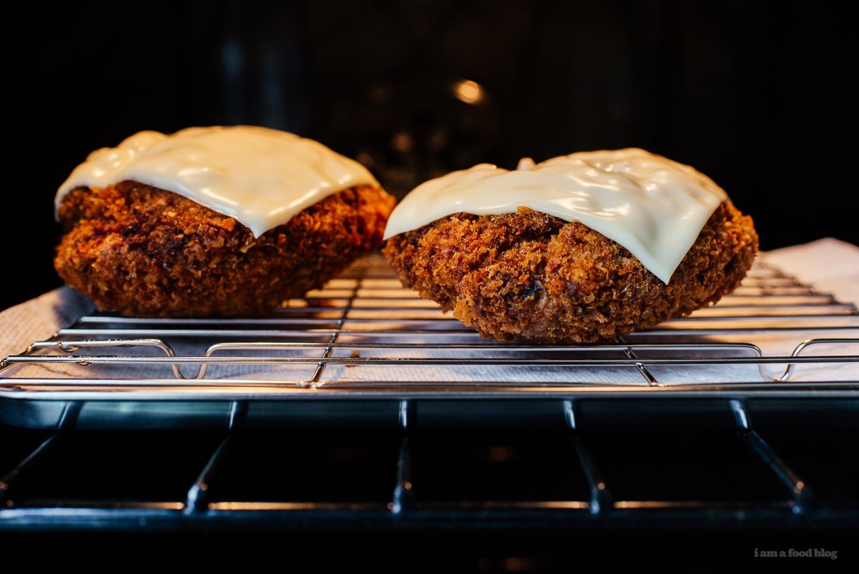 Turkey Menchi Katsu Burger Recipe - www.iamafoodblog.com