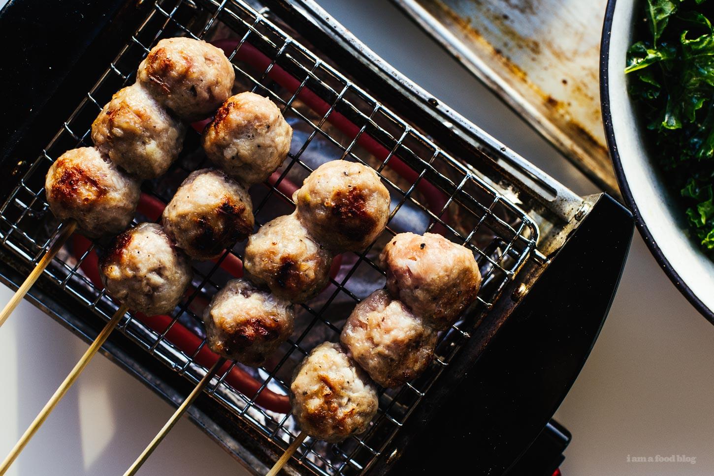 Nem Nuong/Grilled Vietnamese Pork Sausage Recipe - www.iamafoodblog.com