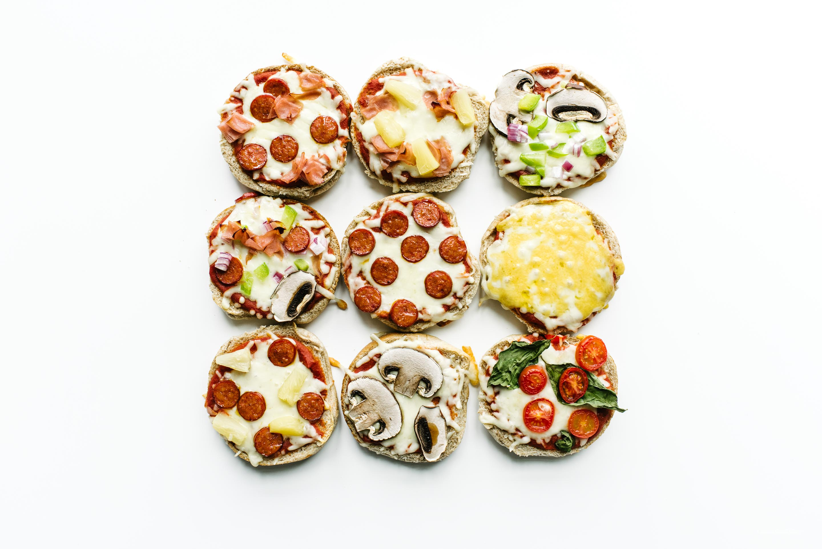 quick and easy pizza toast - www.iamafoodblog.com