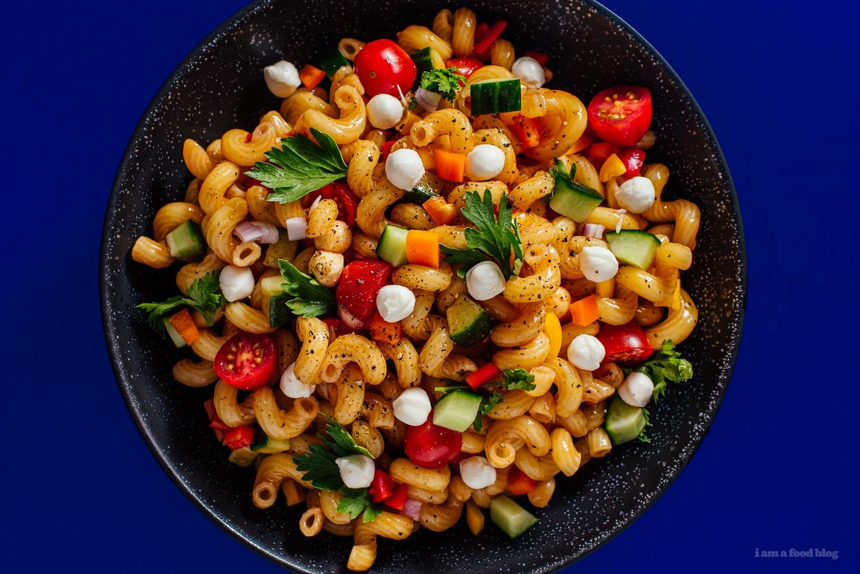 Summery Pasta Salad Recipe - www.iamafoodblog.com