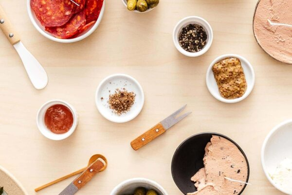 spreads and mustards for charcuterie board | www.iamafoodblog.com