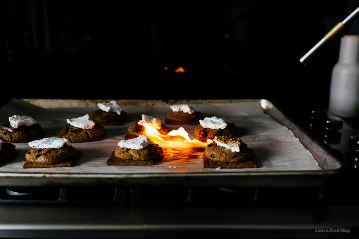 S'More Life: Chocolate Chip Cookie S'mores Recipe - www.iamafoodblog.com