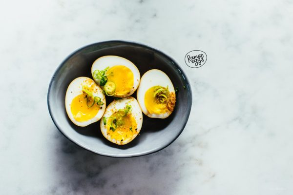 How to Make the Easiest Ramen Eggs - www.iamafoodblog.com