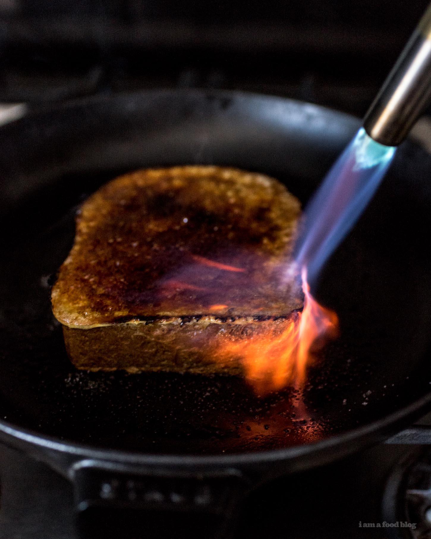 Crème Brûlée French Toast Recipe - www.iamafoodblog.com