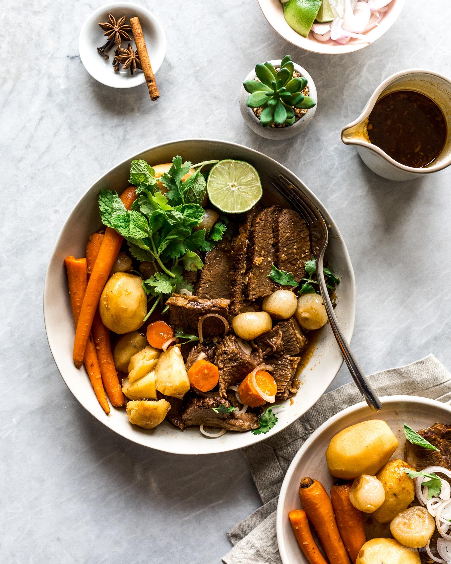 Vietnamese Bo Kho Braised Wagyu Brisket Recipe