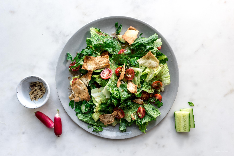 fattoush salad - www.iamafoodblog.com