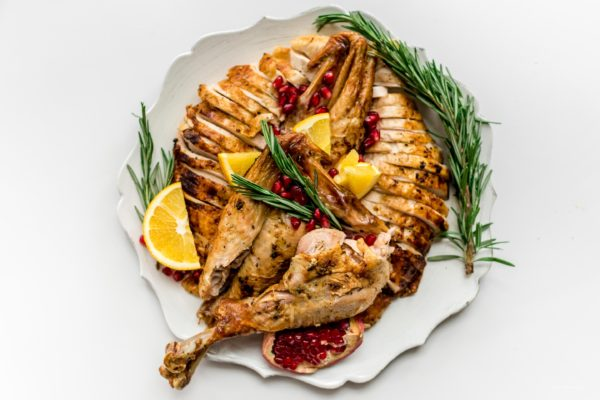 Spatchcock Roast Turkey Recipe | www.iamafoodblog.com