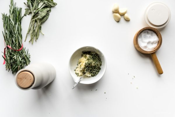 garlic herb butter for turkey | www.iamafoodbog.com
