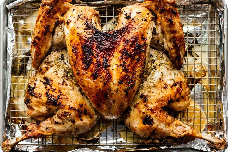 Spatchcock Turkey | www.iamafoodblog.com