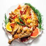 spatchcock turkey recipe | www.iamafoodblog.com