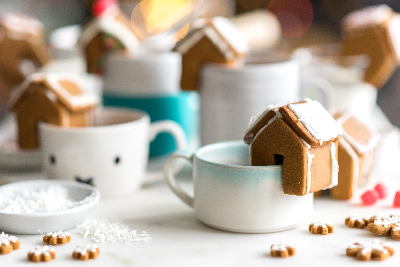 Mini Gingerbread Houses | www.iamafoodblog.com