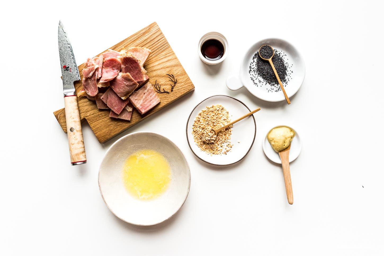 Mini Hot Ham and Cheese Sliders Recipe | www.iamafoodblog.com