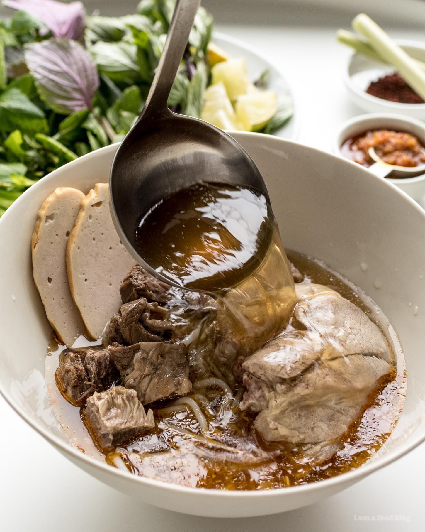 Instant Pot Bun Bo Hue Recipe | www.iamafoodblog.com