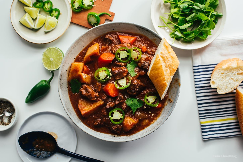Bo Kho Vietnamese Beef Stew Recipe | www.iamafoodblog.com