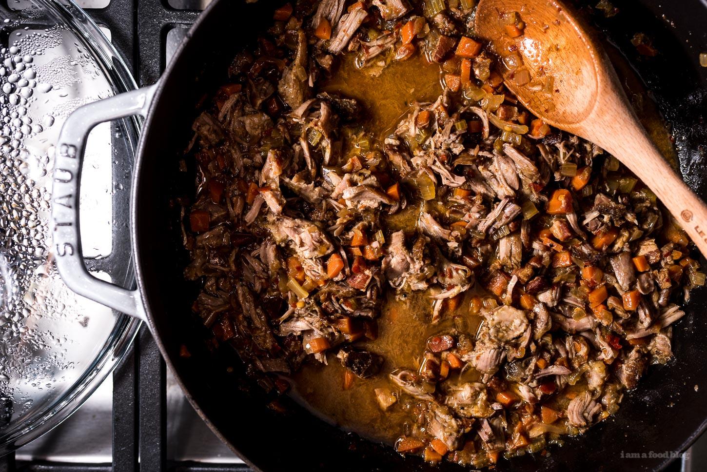 Spicy Lamb Ragu Recipe | www.iamafoodblog.com