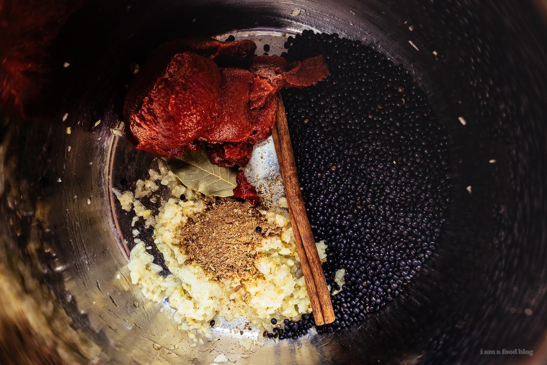 Instant Pot Black Dal Recipe | www.iamafoodblog.com