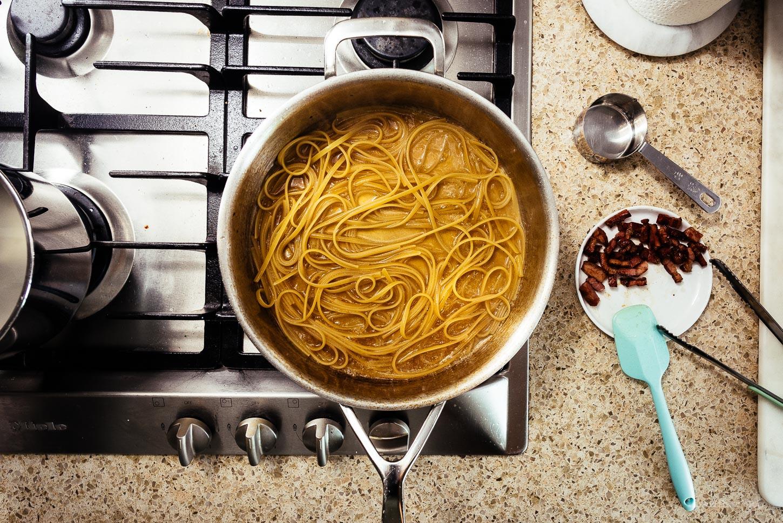 6-Ingredient Pasta alla Gricia Recipe | www.iamafoodblog.com
