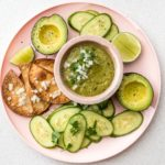 Easy 4 Ingredient Hatch Chile Salsa Verde | www.iamafoodblog.com