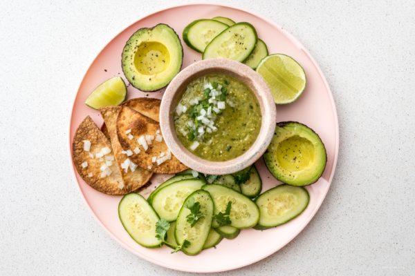Easy 4 Ingredient Hatch Chile Salsa Verde   www.iamafoodblog.com