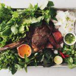 vietnamese steak summer roll party #vietnamese #recipes #summerroll #steak