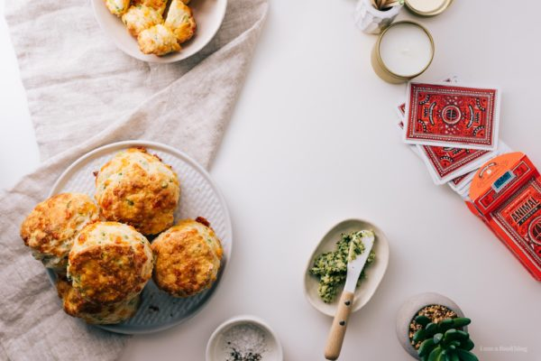 cheddar scallion biscuits | i am a food blog