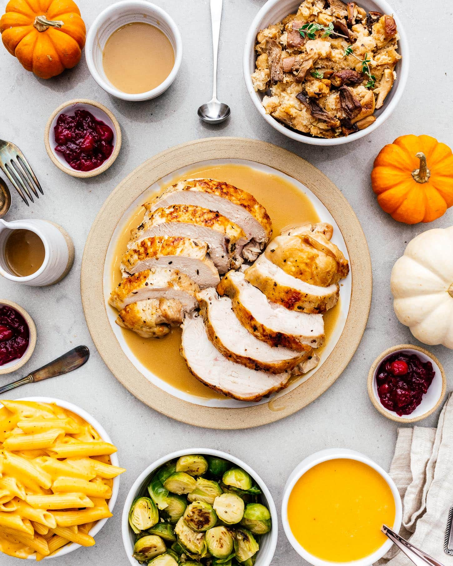 instant pot thanksgiving | www.iamafoodblog.com
