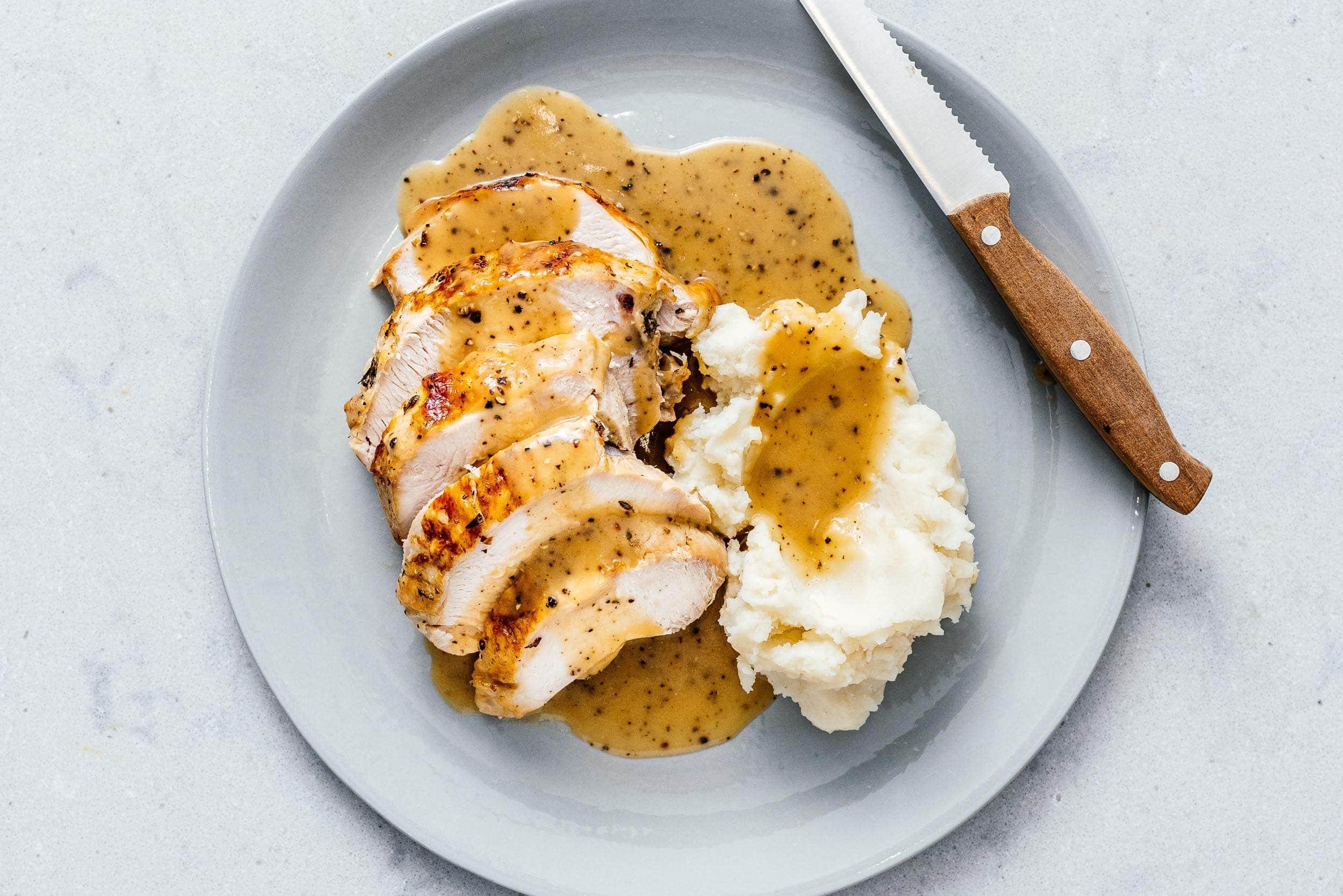 Instant Pot Turkey Christmas Dinner | www.iamafoodblog.com
