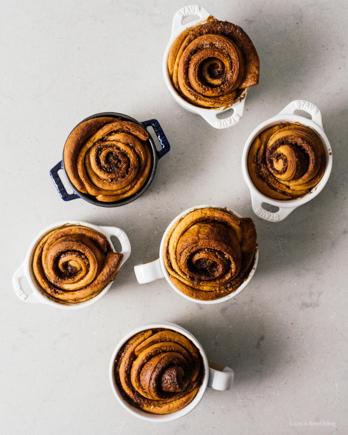 The Best Ever Overnight Cinnamon Rolls Recipe | www.iamafoodblog.com