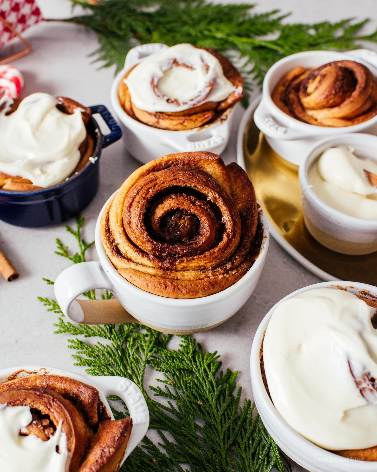 The Best Ever Overnight Cinnamon Rolls Recipe | www.iamafoodblog.com