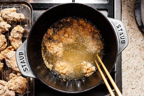 Deep Fried General Tso's Chicken | www.iamafoodblog.com