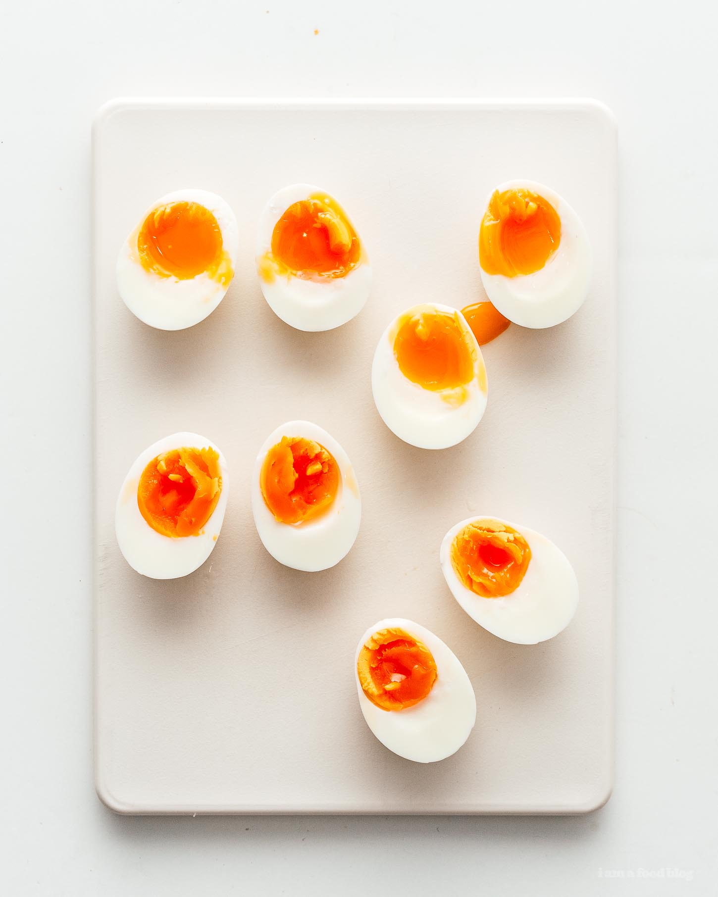How to Make Jammy Soft Boiled Eggs Recipe | www.iamafoodblog.com