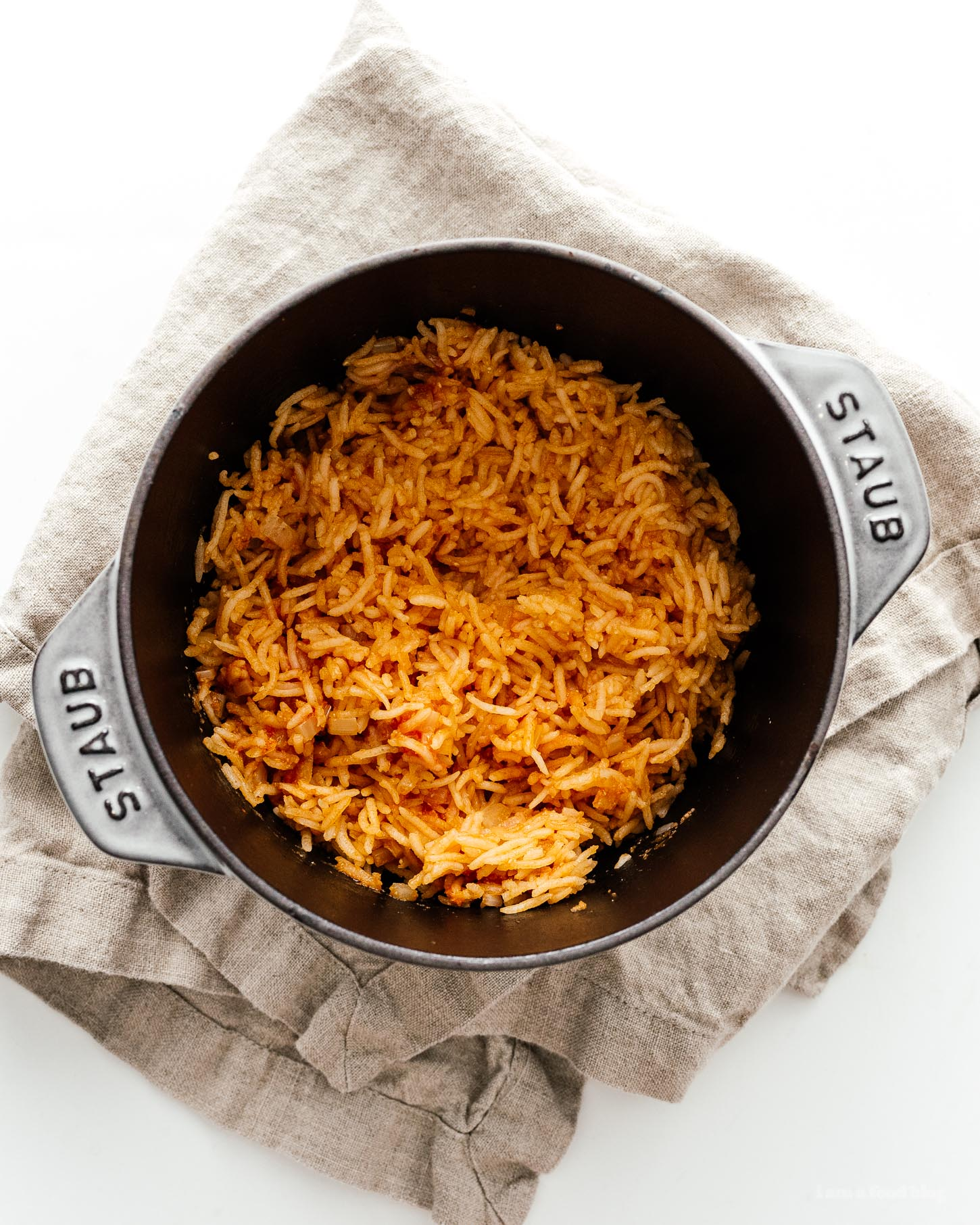 How to Make Restaurant Style Mexican Rice | www.iamafoodblog.com