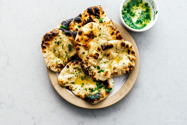 naan bread | www.iamafoodblog.com