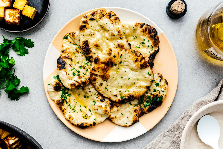 naan recipe | www.iamafoodblog.com