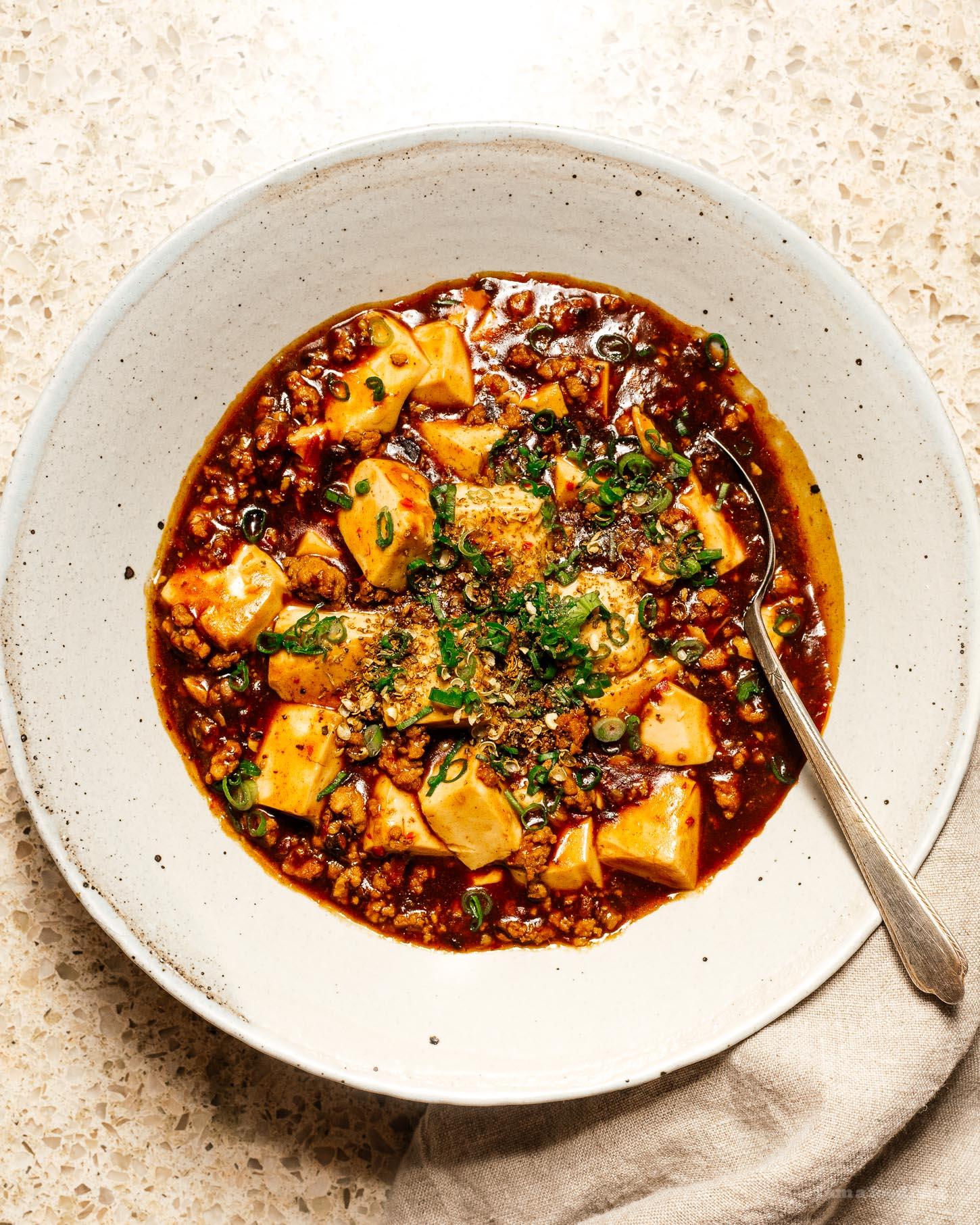 mapo tofu recipe | i am a food blog
