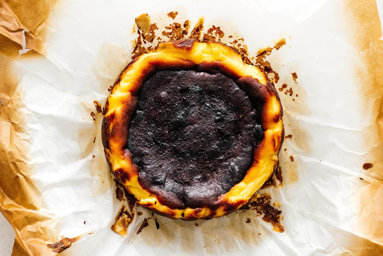 Basque Cheesecake | www.iamafoodblog.com