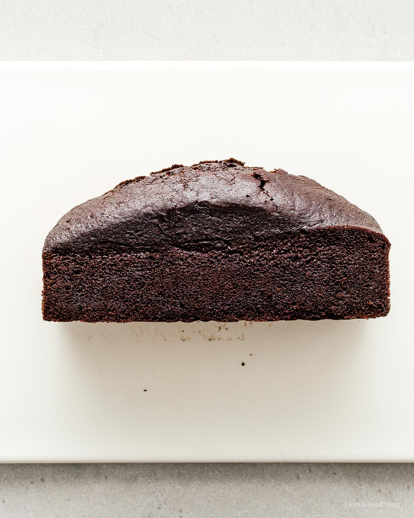 Mini Chocolate Loaf Cake Recipe | www.iamafoodblog.com