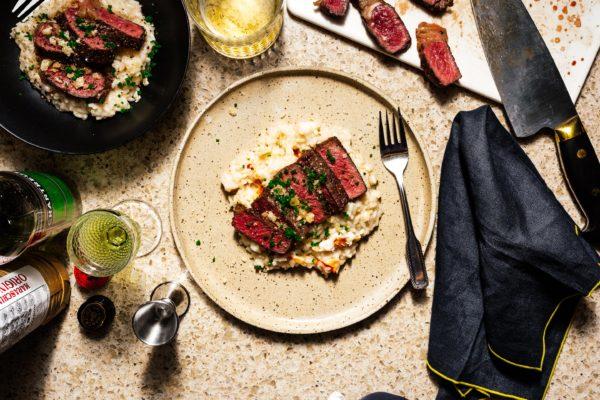 牛排和龙虾意大利煨饭|我是一个食物博客
