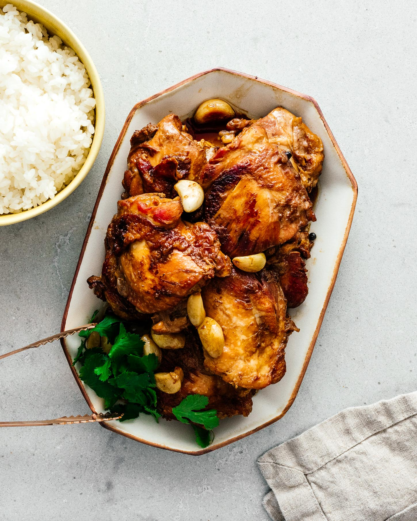Chicken Adobo Recipe | www.iamafoodblog.com