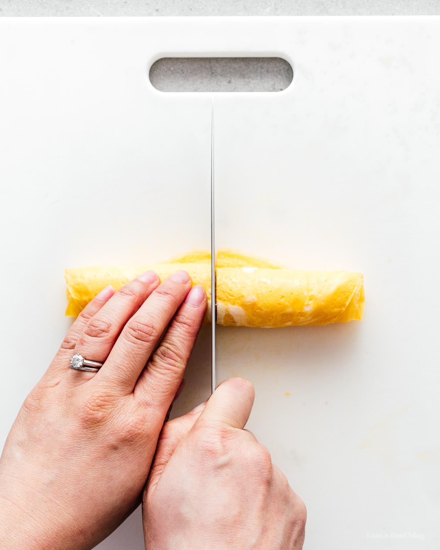 How to Make Egg Ribbons | www.iamafoodblog.com