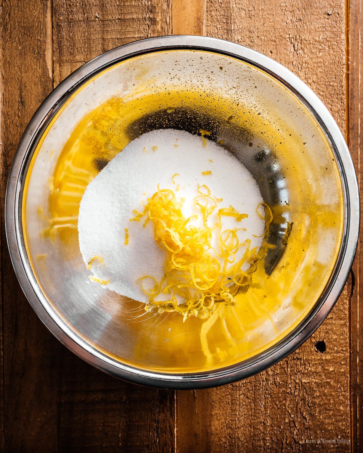 Small Batch Yogurt Lemon Poppyseed Loaf Recipe | www.iamafoodblog.com