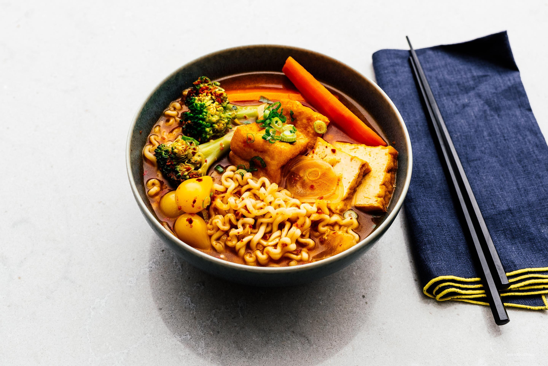 Vegetarian Budae Jjigae Recipe I Am A Food Blog I Am A Food Blog