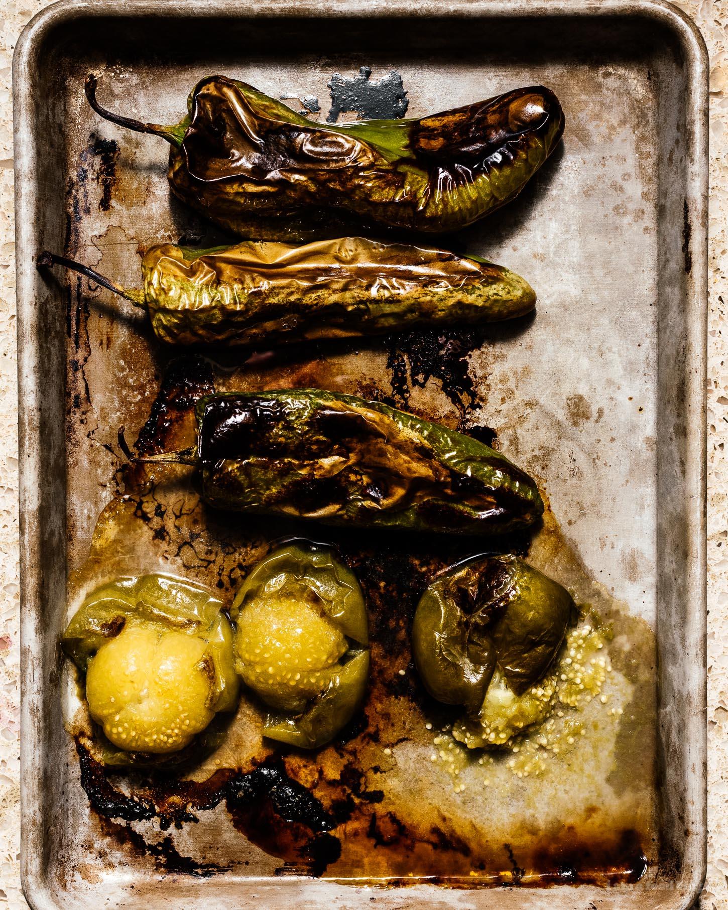 Instant Pot Pork Shoulder Chile Verde Recipe | www.iamafoodblog.com