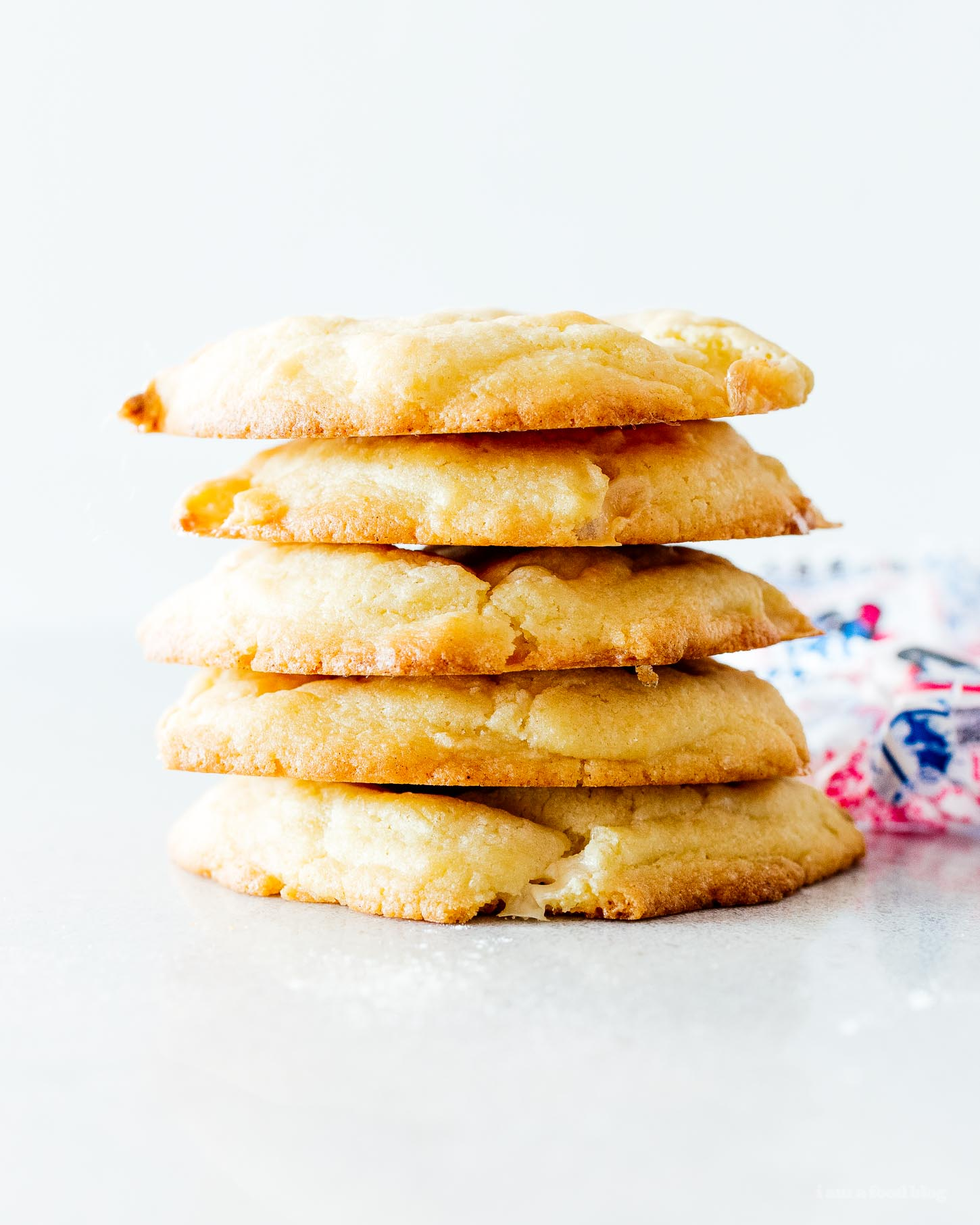 Small Batch White Rabbit Snickerdoodle Cookies | www.iamafoodblog.com