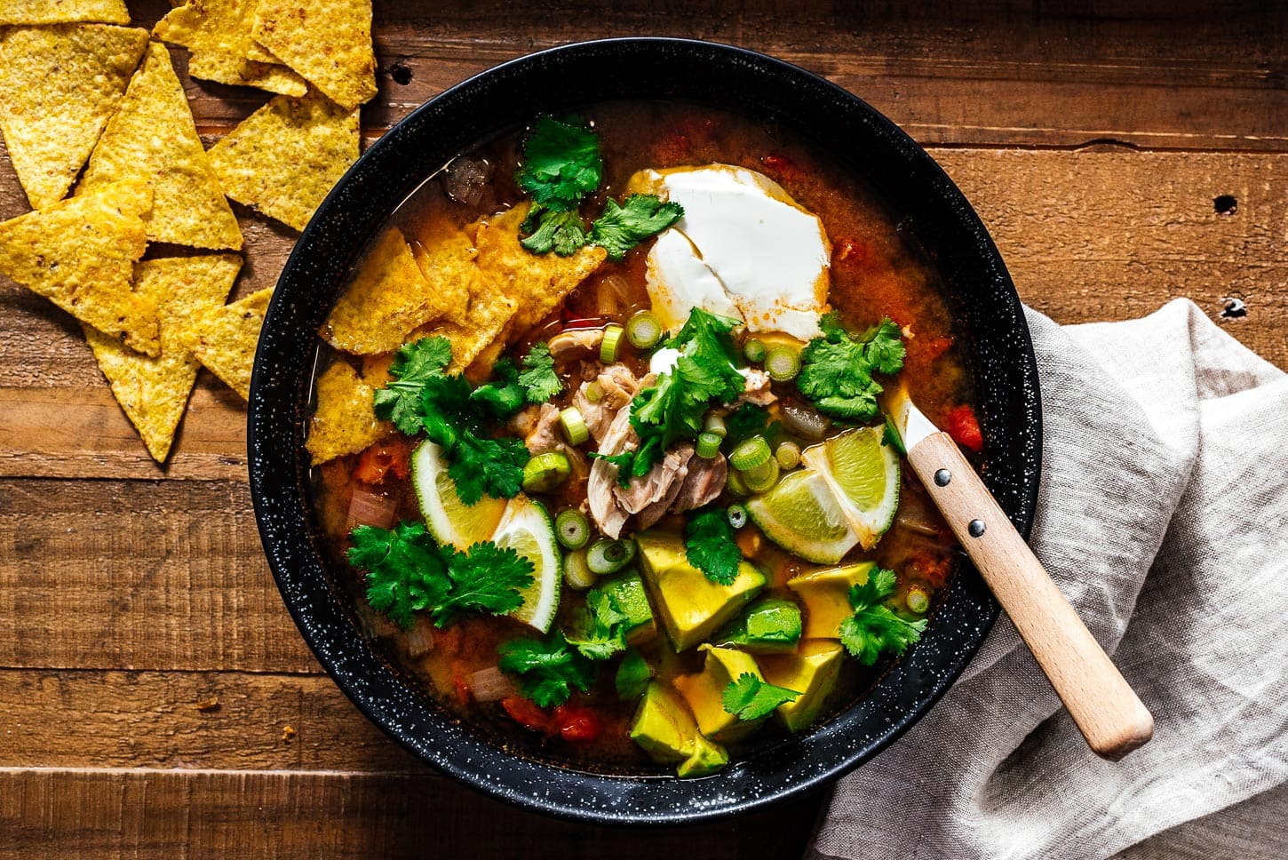chicken tortilla soup | www.iamafoodblog.com