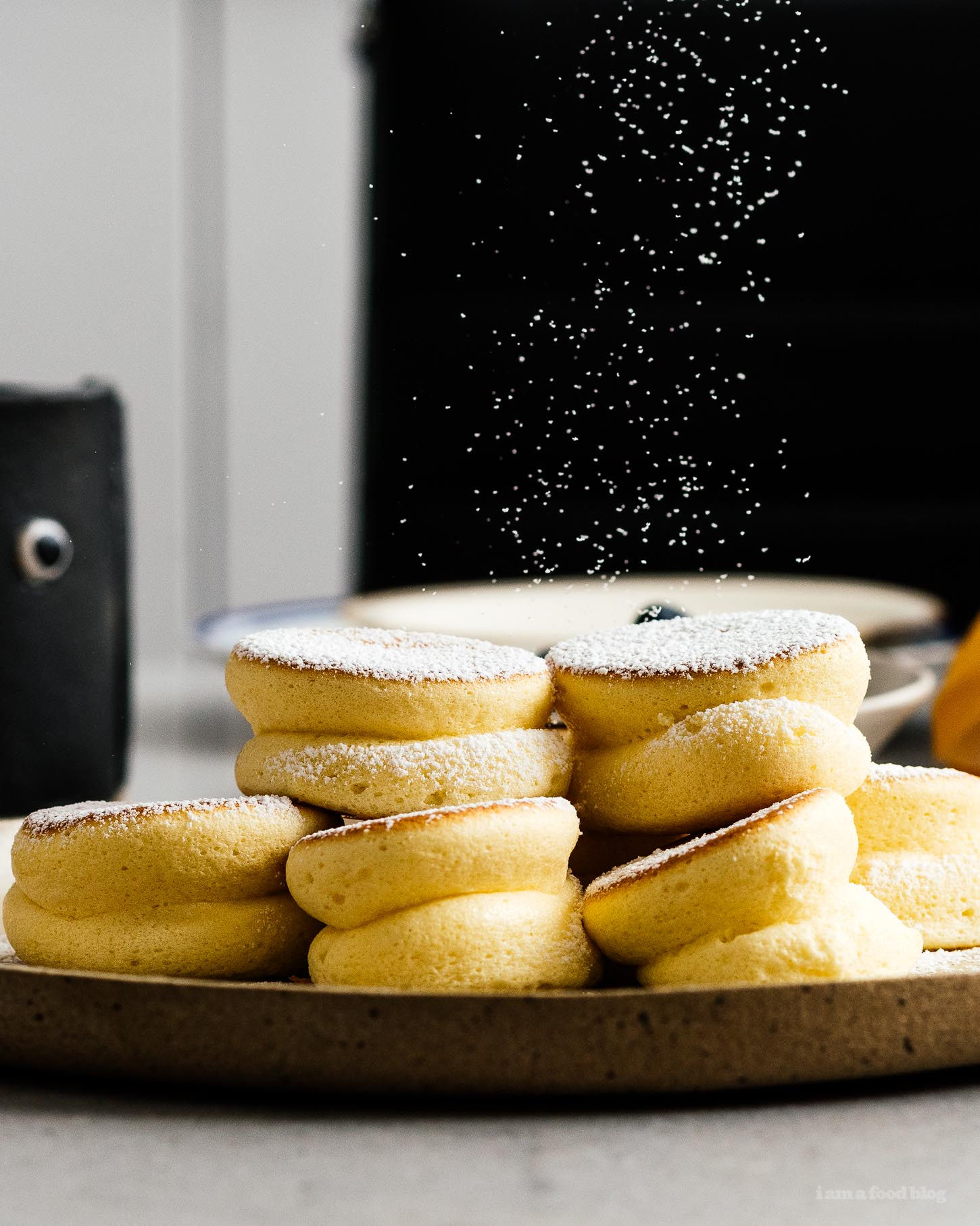 Mile High Mini Japanese Soufflé Pancakes Recipe | www.iamafoodblog.com