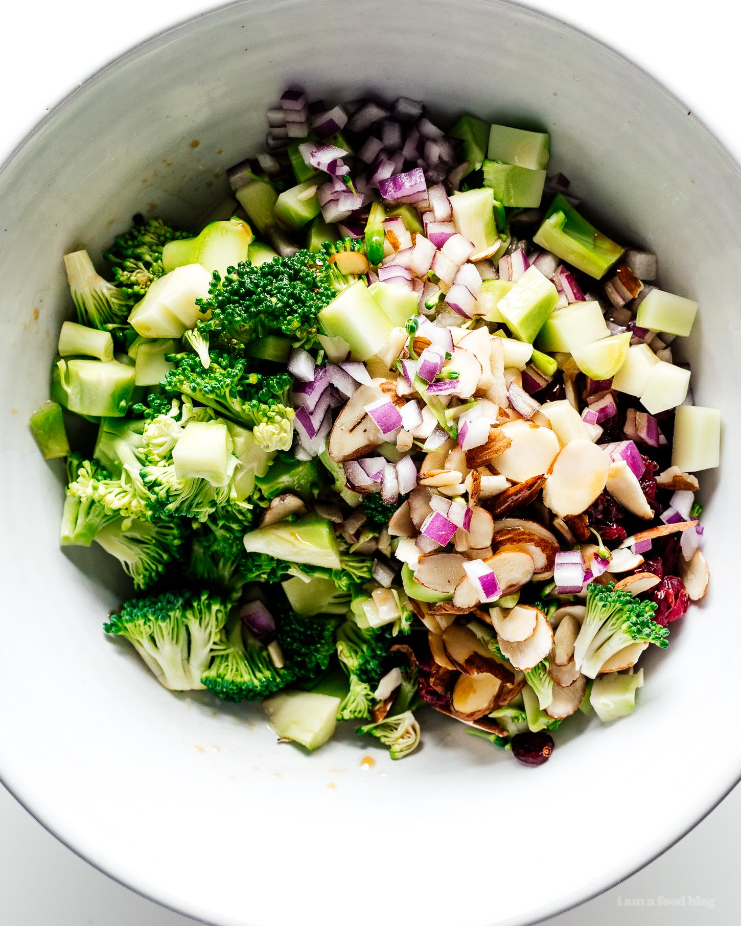 The Best Sesame Soy Broccoli Salad |  www.iamafoodblog.com